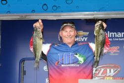 Co-angler leader Robert Giannini holds the top spot by just 4 ounces.