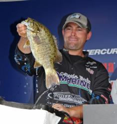Fourth-place pro  Joseph Wood caught the heaviest bag of day three - 17-2.