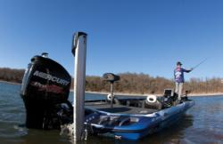 Keystone Light pro Brent Ehrler says that during windy conditions, he
