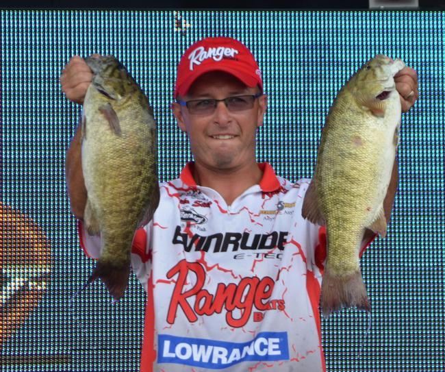 Michael Sitko caught a five-bass limit Saturday that weighed 21 pounds, 6 ounces.