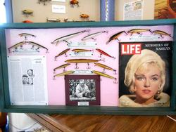 Early Rapala minnow lures and the LIFE magazine in which Rapala was introduced to American fishermen.