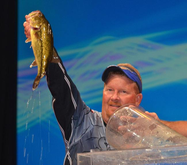2013 BFL All-American champion Kerry Milner finished his first Forrest Wood Cup in fourth place with 44 pounds, 7 ounces.