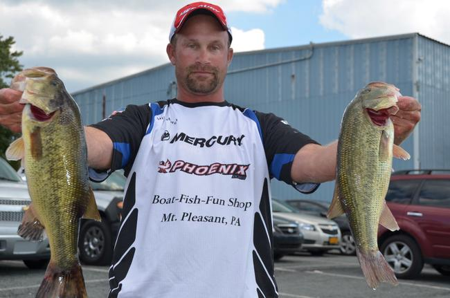 Pro Mike Moran of Ruffs Dale, Pa., qualified for the EverStart finals on the Chesapeake Bay in third place overall.
