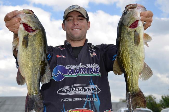 2013 EverStart Northern Division points winner Joseph Wood of Westport, Mass., qualified for the finals on the Chesapeake Bay in 10th place overall.
