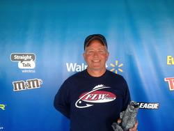 Co-angler Gregg Bierman of Cincinnati, Ohio, won the Sept. 14-15 Hoosier Division Super Tournament on the Ohio River with a two-day total of seven fish weighing 8 pounds, 12 ounces. He walked away with over $2,700 for his efforts.