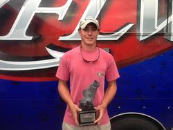 Co-angler Griffin McDonough of Birmingham, Ala., won the Sept. 28-29 Bama Division Super Tournament on Lake Mitchell with a two-day total of 19 pounds. He walked away with more than $2,300 for his efforts.