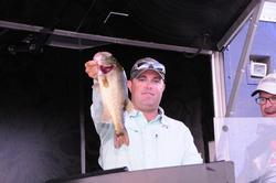 Kris Wilson of Montgomery, Texas, finished second with a three-day total of 50 pounds, 4 ounces.