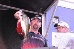 Philip Crelia of Center, Texas, finished fourth with a three-day total of 49 pounds, 1 ounce.