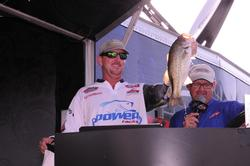 Ray Hanselman of Del Rio, Texas, finished third with a three-day total of 50 pounds even.