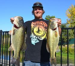 Rounding out the fifth spot is Wade Durling of Santa Rosa, Calif., with a limit weighing 26 pounds even.