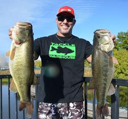 Taking the third spot on day two was Jody Jordan of Vacaville, Calif., with a two-day total of 52 pounds, 7 ounces.