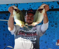Jason Borofka fought hard, but in the end came up 2 ounces shy of the victory with a three-day total weight of 80-15.