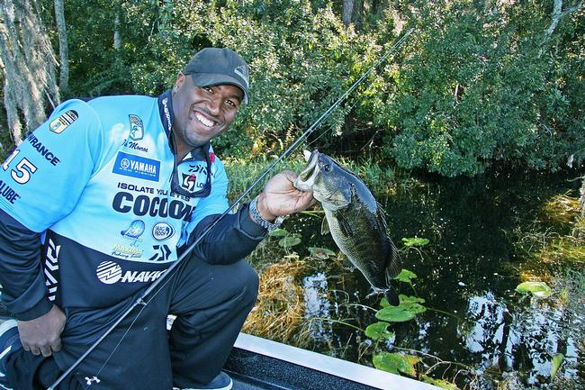 During springtime, FLW Tour pro Ish Monroe won't hesitate to push his boat way back into deep cover in an effort to find unpressured bedding bass.