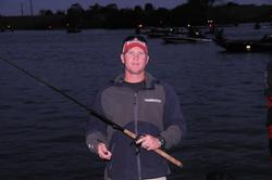 Former Okeechobee FLW Tour winner Brandon McMillan is ready for action on day one of the Rayovac FLW Series.