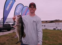 Jared Dial of Winter Haven, Fla., grabbed the fourth place spot after day one with 18 pounds, 8 ounces.