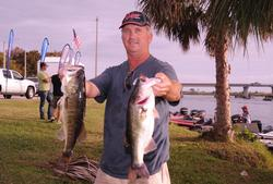 Joseph Kremer of Osteen, Fla., climbed to the fourth place spot with a 16-pound, 11-ounce catch for a two-day total of 32 pounds, 5 ounces.