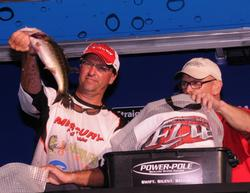 Val Osinski of Pompano Beach, Fla., finished fourth with a three-day total of 46 pounds, 7 ounces worth $10,000.