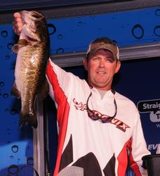 Keith Pace of Monticello, Ark., rounds out the top five with a three-day total of 45 pounds, 3 ounces.