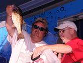 Co-angler Aaron Richardson of Destin, Fla., finished third with a three-day total of 29-5.