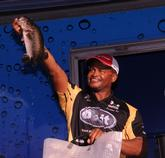 Co-angler Ronnie Green of Sebring, Fla., finished second with a three-day total of 30-12.