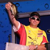 Co-angler Tim Fox of Meridian, Miss., finished fourth with a three-day total of 29-4.