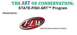 The State-Fish Art Contest, presented by FLW, is open to all students and is currently seeking entries.