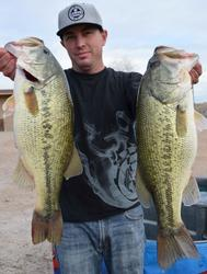 Pro Kevin Hugo of Chino, Calif., grabbed fifth place overall with a total, two-day catch of 34 pounds, 14 ounces.