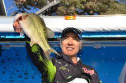 Co-angler Gary Haraguchi of Redding, Calif., finished the Lake Havasu tournament in third place overall.