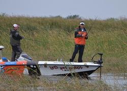 Greg Bohannan on the hunt for an Okeechobee kicker.