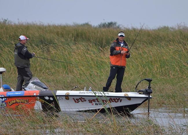 Greg Bohannan on the hunt for an Okeechobee kicker.