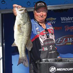 Denny Brauer says that few lures on the market are as effective at catching true trophy bass as a simple jig.