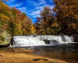 Riley Moore Falls is just one of the compelling points of interest in and around the Seneca, S.C. region.