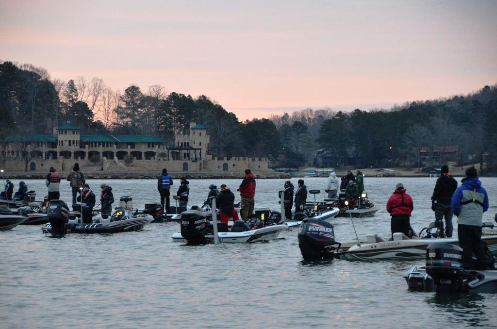 2014 flw college fishing national championship under way for Flw college fishing