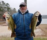 Rich Dalbey rounds out the top 10 after day one with 15 pounds, 15 ounces.