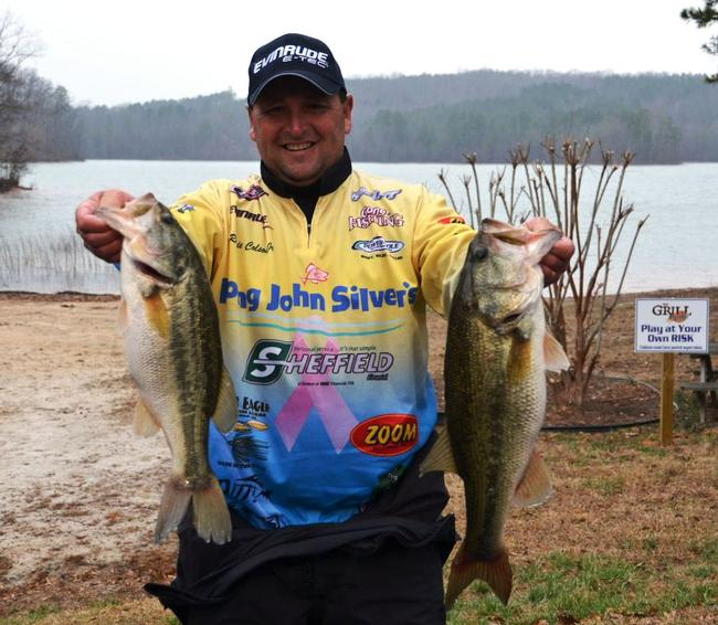Ramie Colson Jr. sacked 17-10 to land in the fifth spot after day one.