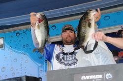 Clent Davis of Montevallo, Ala., took the fourth place spot with a three-day total of 55 pounds, 10 ounces.
