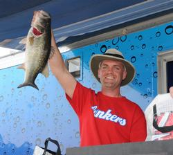 From 10th to second for co-angler Dave Hammer of Taylorsville, N.C., who finished runner-up with 31 pounds, 11 ounces.