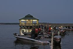 Anglers eagerly await their chance to see what Toledo Bend yields on day one.