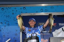 Bed fishing with Gene Larew plastics led  Andrew Upshaw to a fourth-place finish.