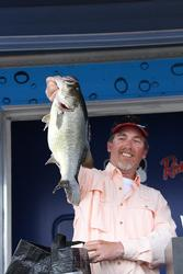 Second-place co-angler Mike Power found a quality kicker on day three.