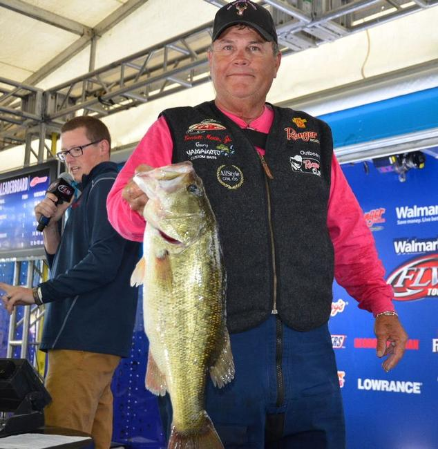 Lendell Martin Jr. is tied in ninth place after day one with a 17-9 limit.