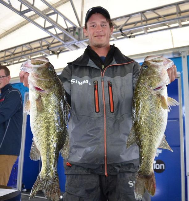 Brandon Cobb caught 18-8 on day one to put him in seventh place.
