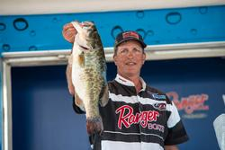 Kerry Barnett placed second in the co-angler standings. The Arkansas fisherman had 33-pounds, 8 ounces and collected $7,500.