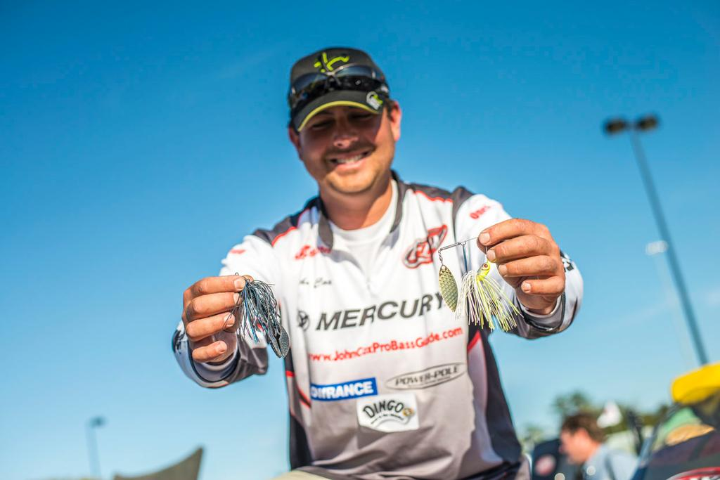 Top 10 lures and patterns from sam rayburn flw fishing for Fishing sam rayburn