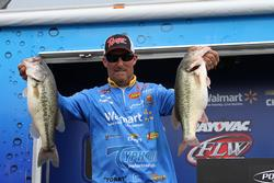 Walmart pro Wesley Strader figured out a key adjustment and sacked up 20 pounds.