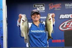 Topping the co-angler division was Dany Danhausen.