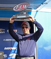 Top co-angler Charles Parker caught just three fish in the final round.