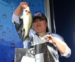 After leading the Co-angler Division for two days, Dany Danhausen finished in second.
