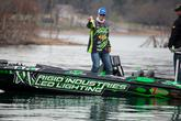 Adrian Avena stayed in the title hunt Friday with a limit of 9-13 that moved him to 11th place.