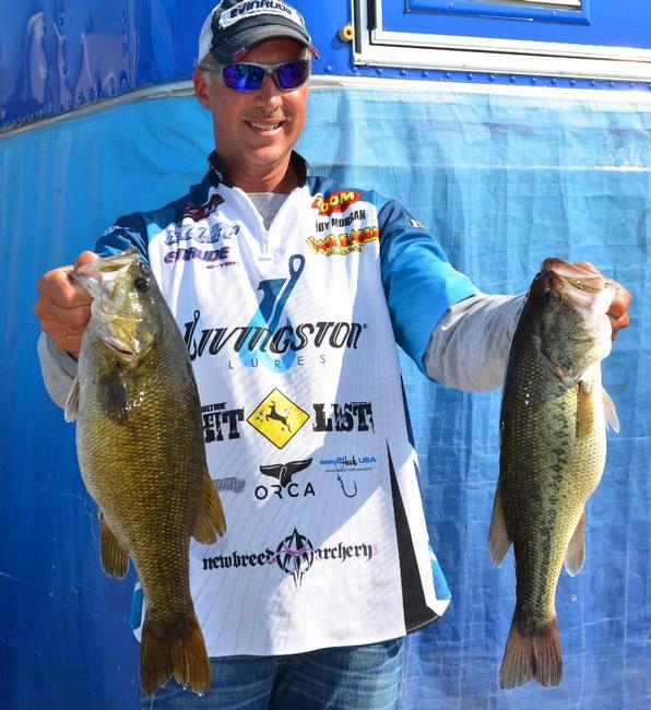 Andy Morgan made a run on day two with a 15-4 limit to move him to second.